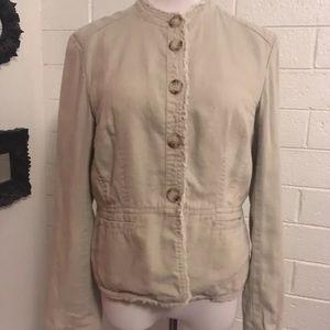 Michael Kors Linen Jacket Size 12